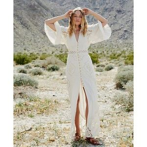 Free People Summer Girl Maxi Dress - worn once